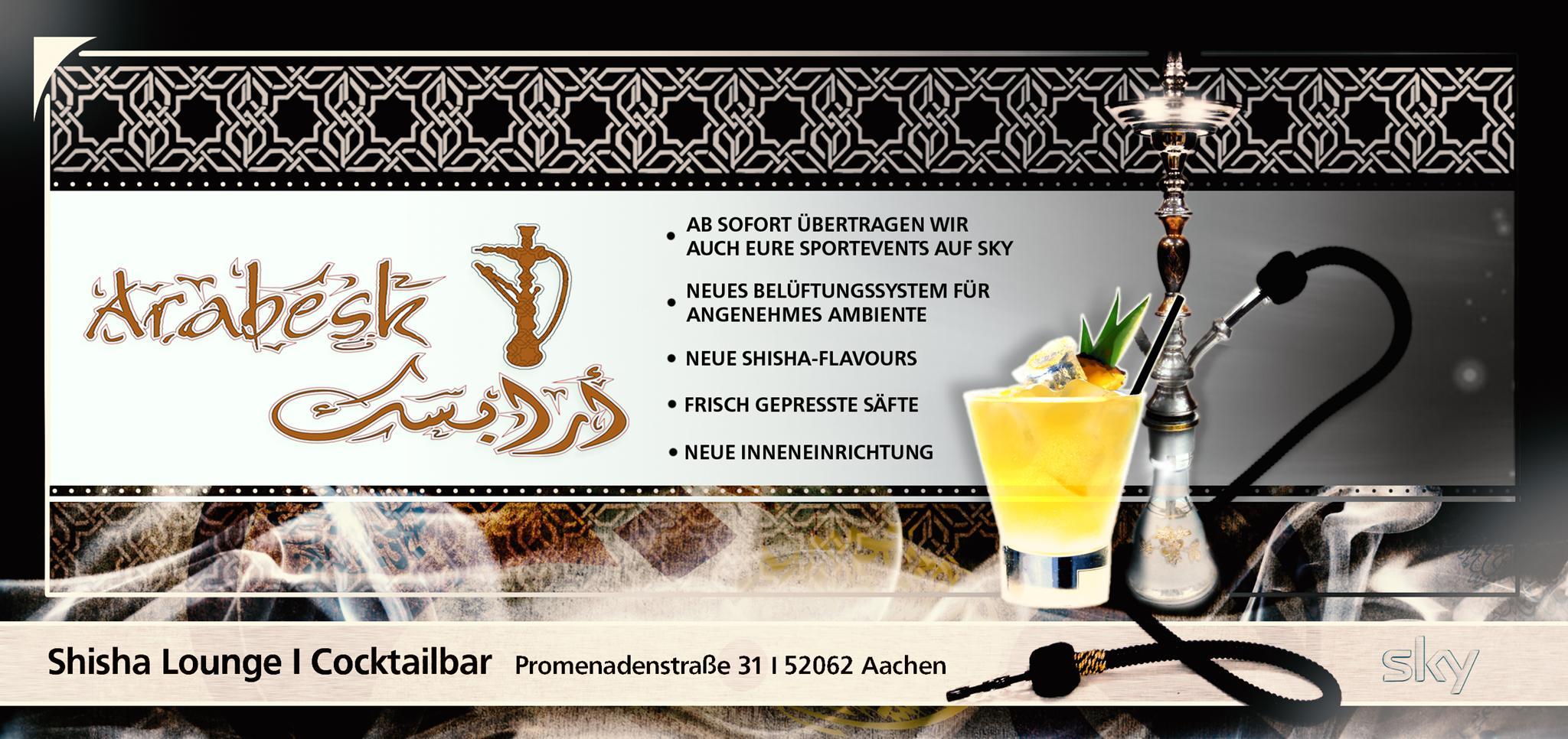 Willkommen! | Arabesk Shisha Lounge